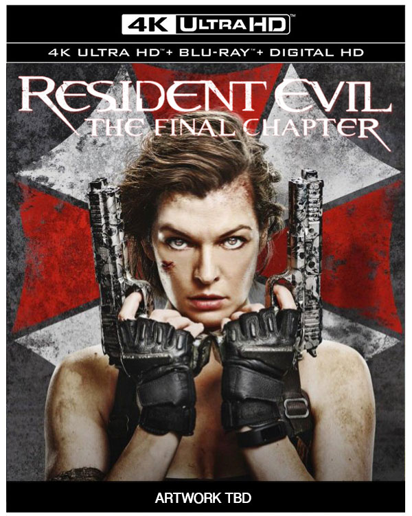 Resident evil the final chapter 4k blu ray release dates revealed hd report - Resident evil final chapter 4k ...