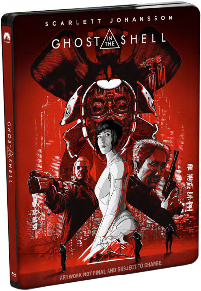 Ghost In The Shell - 4K Ultra HD Zavvi Exclusive Limited Edition Steelbook