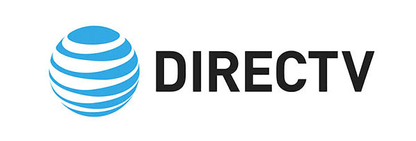directv logo new on white