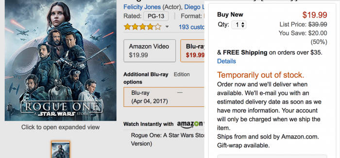 rogue-one-out-of-stock-amazon