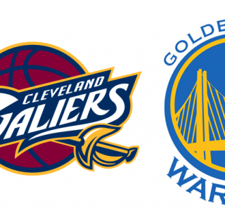 cavs-warriors-logos