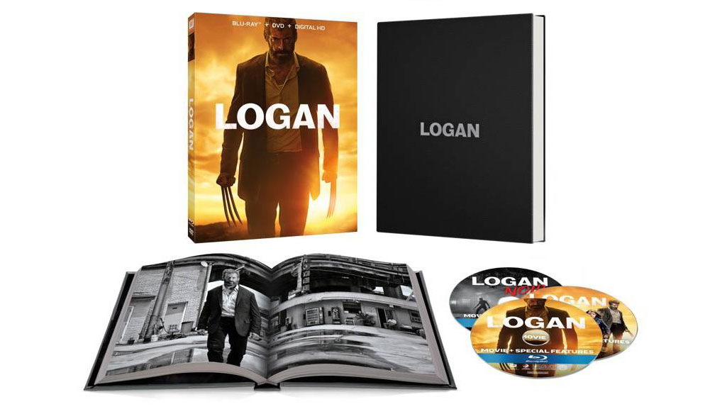 Logan Target Blu-ray Exclusive