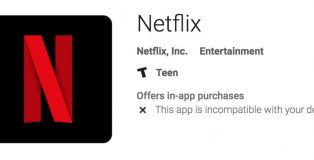netflix-android-incompatible