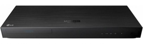 LG - UP970 - 4K Ultra HD 3D Wi-Fi Built-In Blu-Ray Player