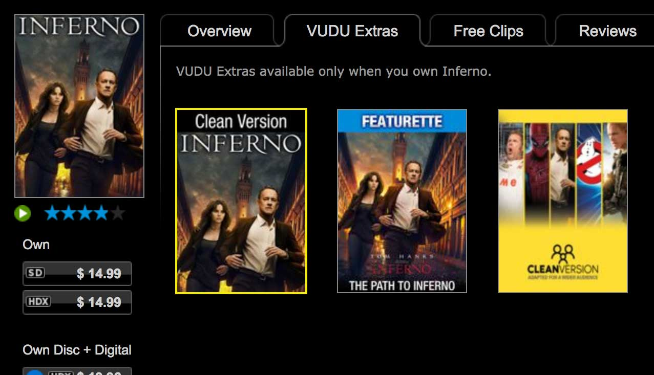 vudu-clean-version-inferno-extras