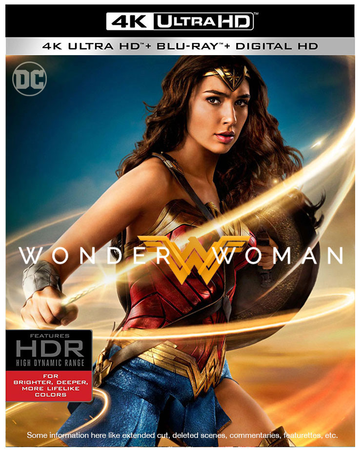 Check out these Wonder Woman Blu-ray cover art mockups ...