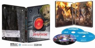 Guardians of the Galaxy Vol. 2 Best Buy 4k Blu-ray