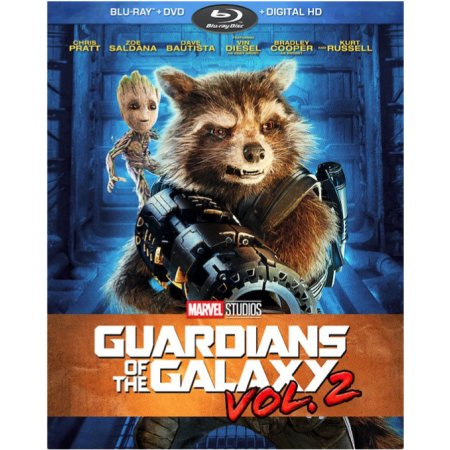 Guardians of the Galaxy Vol. 2 Walmart Blu-ray