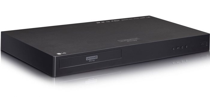 LG UP970 4k Ultra HD Blu-ray player