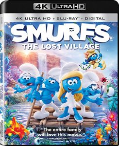 Smurfs- The Lost Village Blu-ray