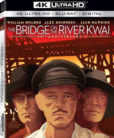 The Bridge on the River Kwai 4k Blu-ray