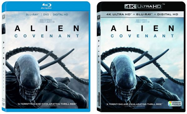 Alien: Covenant – Blu-ray & 4k Blu-ray – HD Report Michael Fassbender News