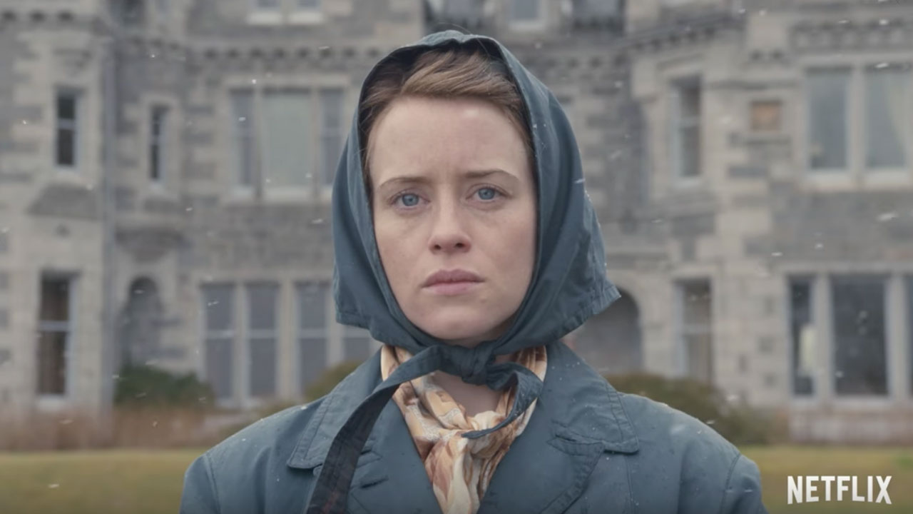 "Claire Foy in ""The Crown"""