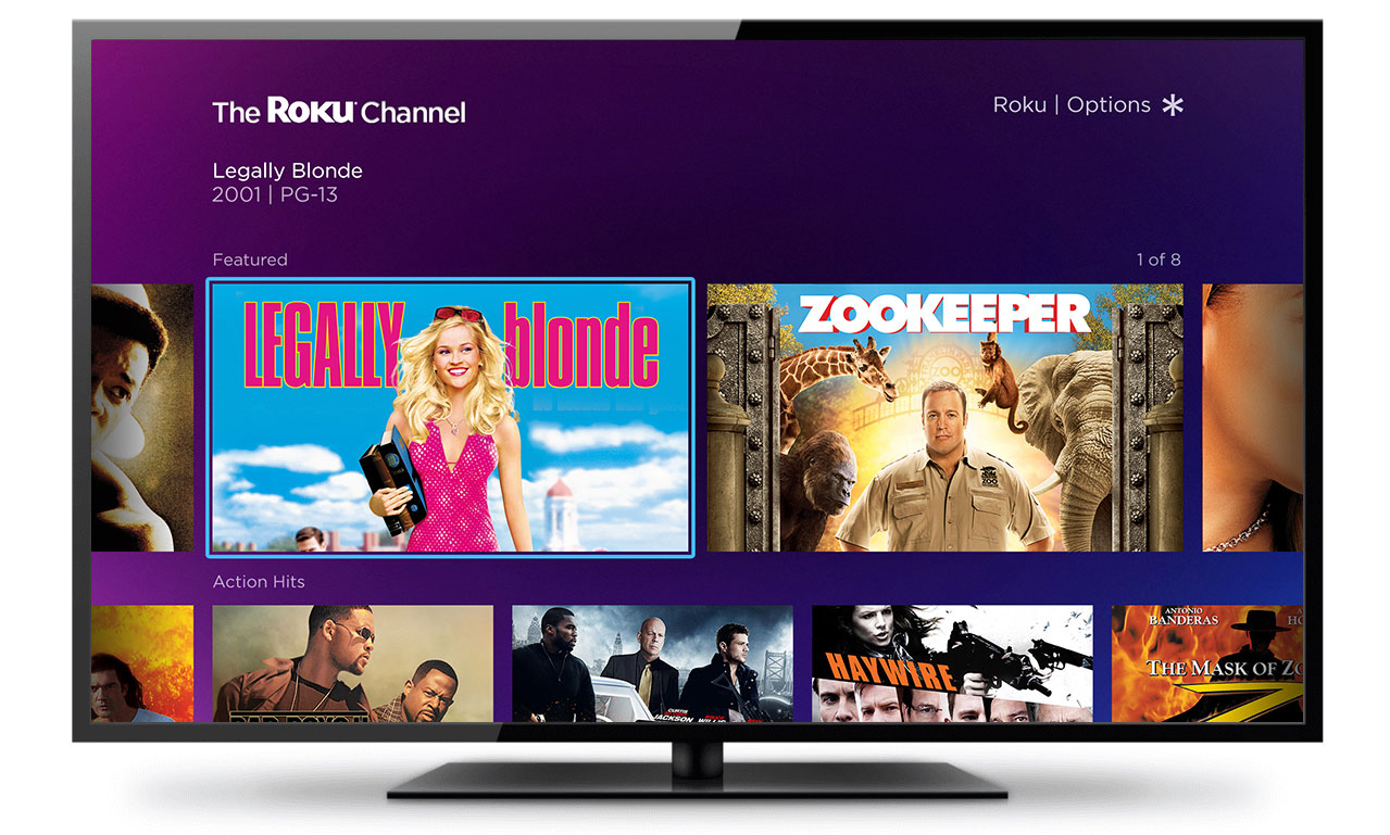 Roku Launches Free Movie Streaming Channel