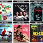 New 4k Ultra HD Blu-ray Releases in October