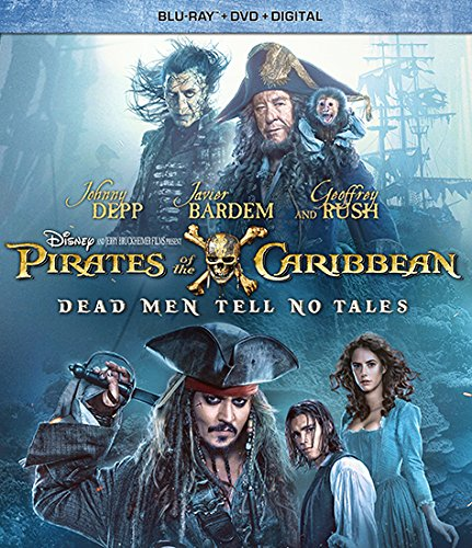 Pirates Of The Caribbean- Dead Men Tell No Tales Blu-ray