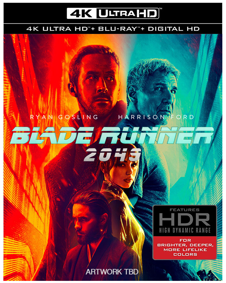 Blade Runner 2049 Blu-ray & 4k BD available for Pre-Order – HD Report