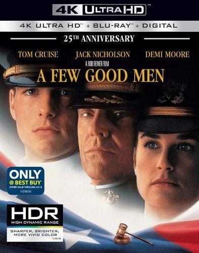A Few Good Men 4k Blu-ray Best Buy exclusive