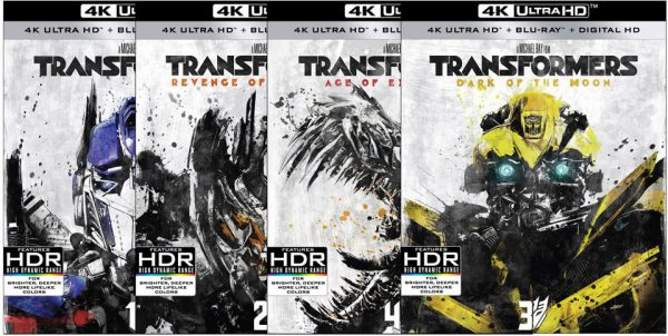 first 4 transformers films detailed on 4k ultra hd blu ray hd report