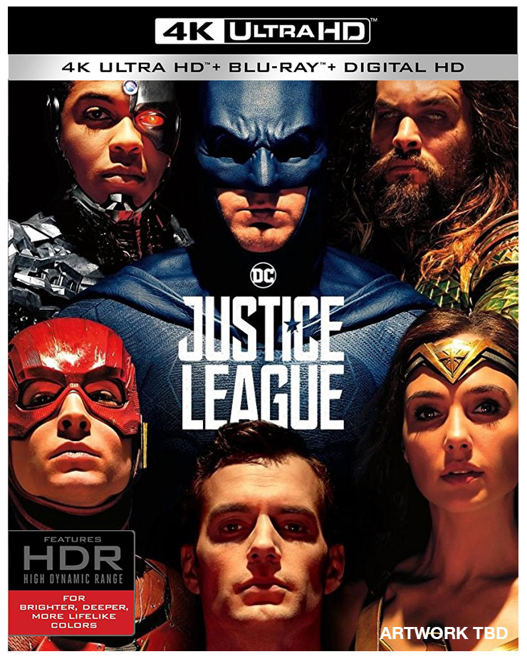 Justice League Blu Ray Amp 4k Blu Ray Up For Pre Order