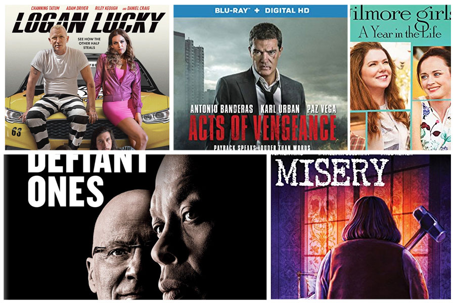 New On Blu Ray Logan Lucky The Defiant Ones More Hd Report