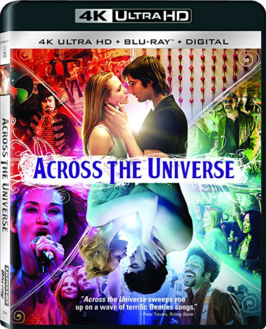 Across the Universe 4k Blu-ray