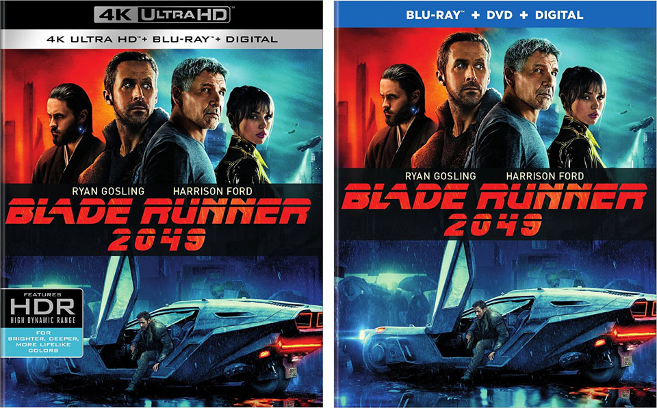 Blade Runner 2049 Blu-ray / 4k Ultra HD Blu-ray