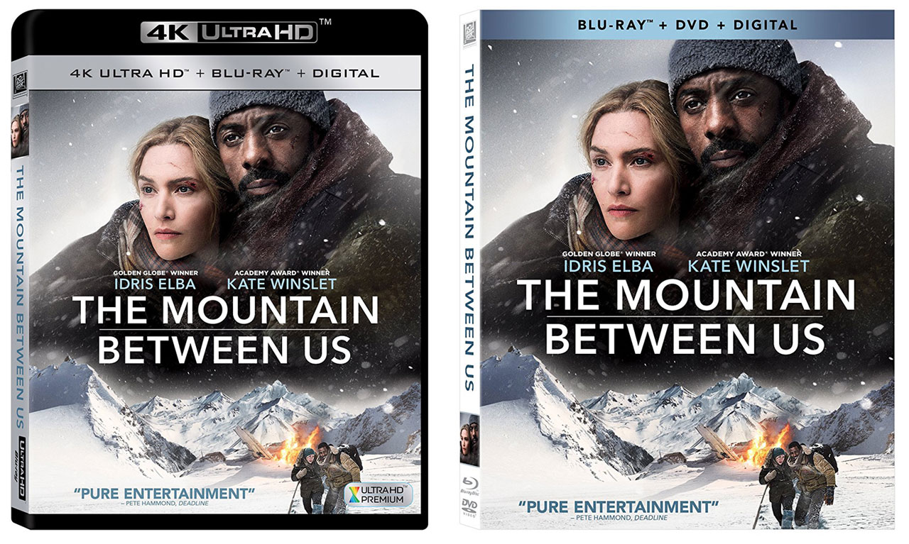 The Mountain Between Us Scheduled For Digital Blu Ray 4k