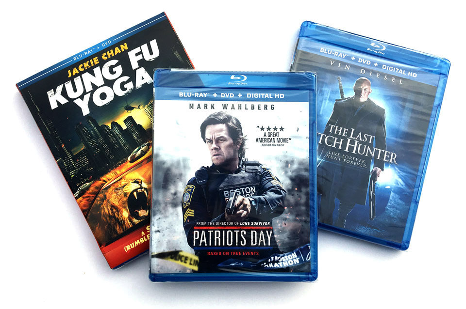 Blu-ray Giveaway: 3-Movie Action Pack w/Patriots Day [Ended