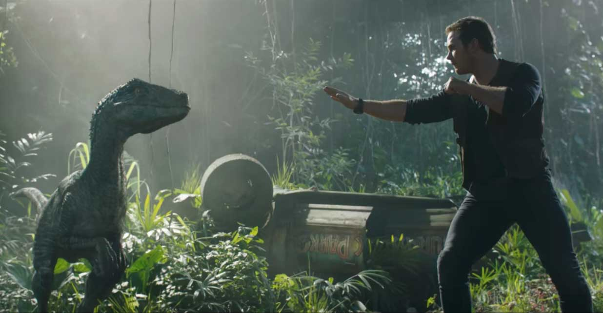 Jurassic World Fallen Kingdom Official 1st Trailer