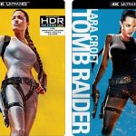 Lara Croft Tomb Raider films releasing to 4k Ultra HD Blu-ray