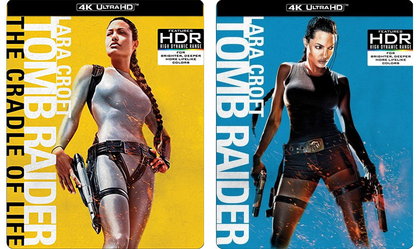 Lara Croft Tomb Raider Films Releasing To 4k Ultra Hd Blu