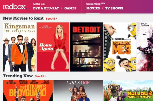 Redbox launches new On Demand service for movie and TV streaming