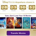 Reminder: Transfer Your Digital Disney Movies By Feb. 28