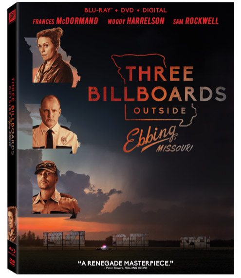 Three Billboards Outside Ebbing, Missouri Blu-ray copy