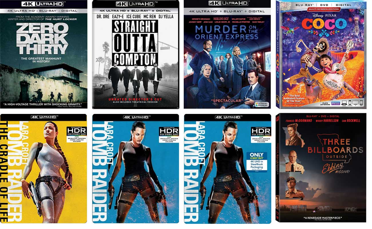 New 4k Blu-ray Releases This Week – HD Report