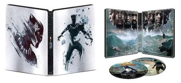 Black Panther Best Buy 4k Blu-ray SteelBook