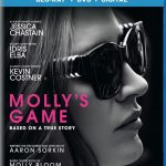 Molly's Game scheduled for Blu-ray & DVD release