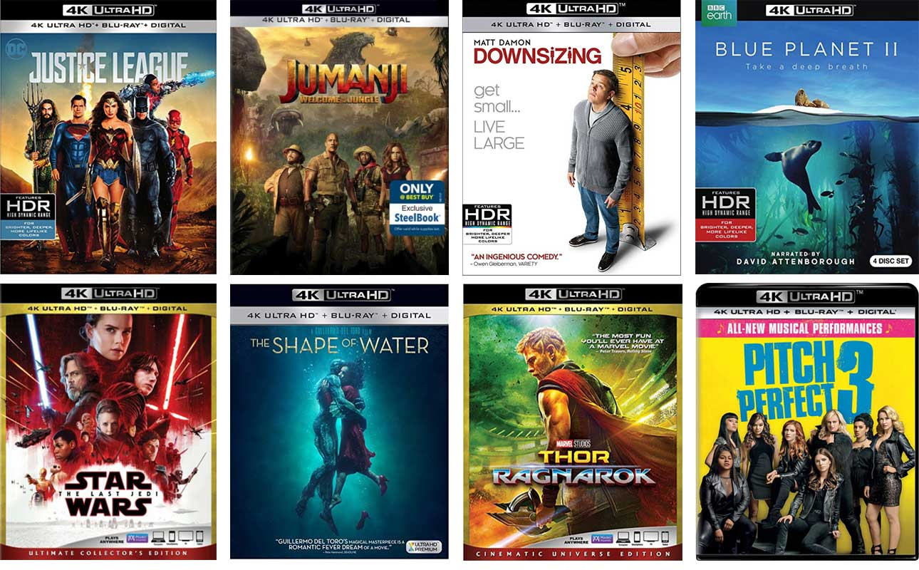 new 4k blu-ray march 2018