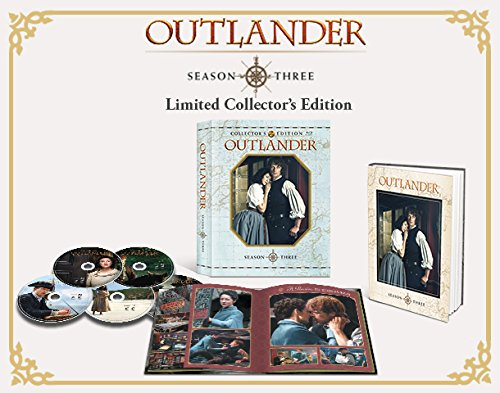 outlander season 3 limited edition blu-ray open