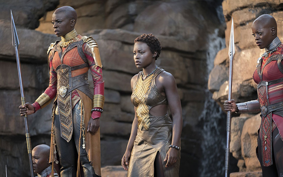 'Black Panther' tops box office for 5th straight weekend