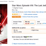 'Star Wars: The Last Jedi' finally in stock on Amazon [Update]