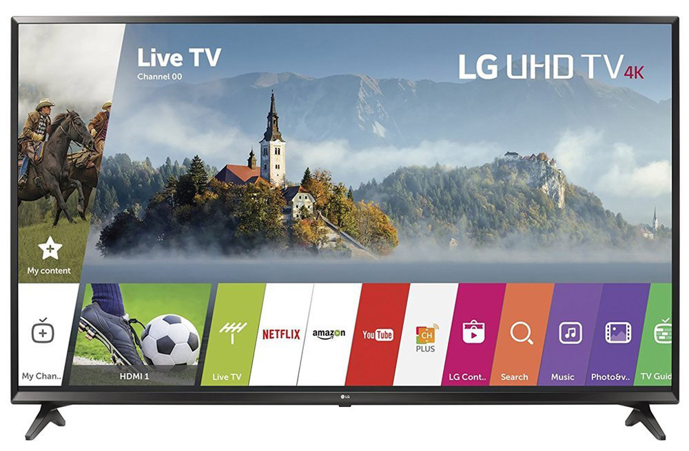 LG 43-inch UHD 4K HDR Smart LED TV - 43UJ6300 2017 Model