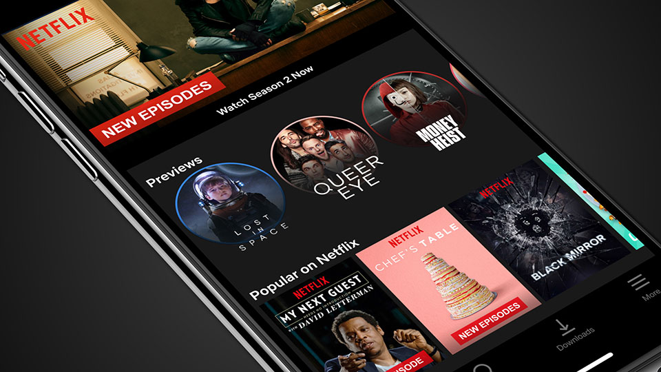 Netflix brings previews of shows to your phones