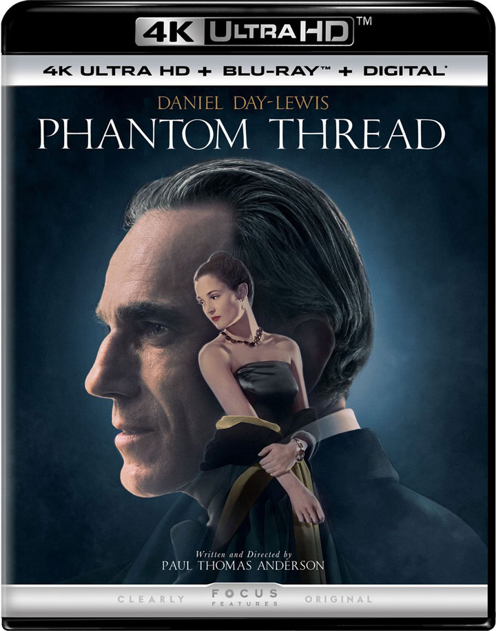 Phantom Thread 4k Blu-ray