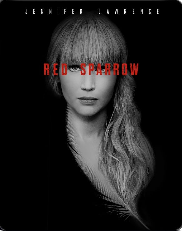 Red Sparrow Best Buy Blu-ray Steel Book
