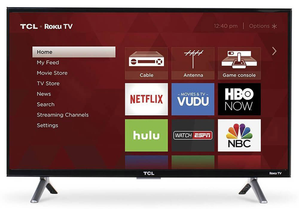 TCL 55S405 55-Inch 4K Ultra HD Roku HDR TV