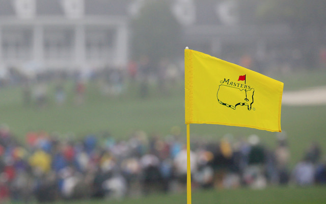Masters Tournament Logo on Flag