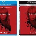 'Red Sparrow' release dates on Blu-ray & 4k Ultra HD