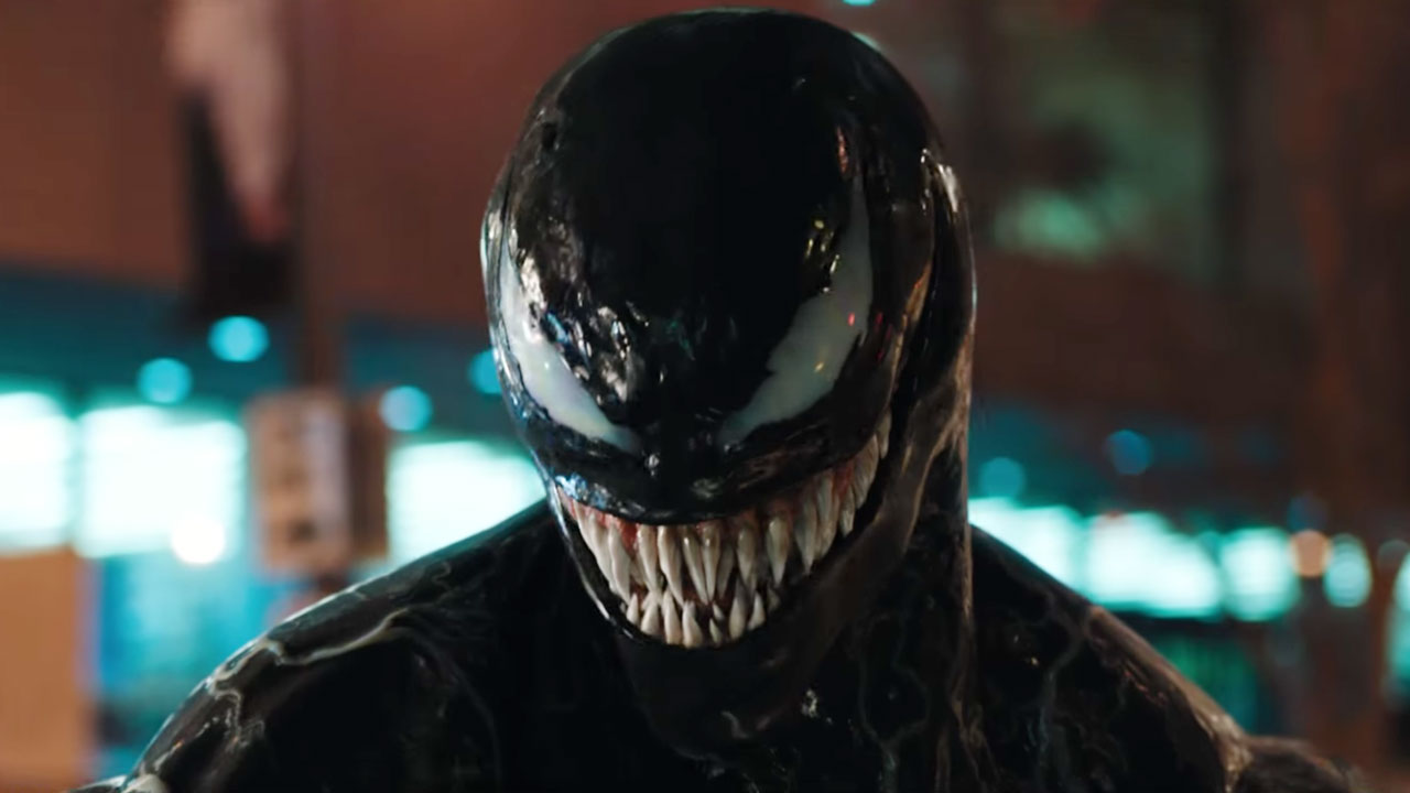 """Venom"" 2018 starring Tom Hardy"